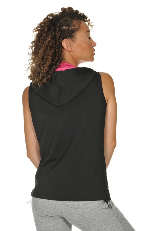 Women's sleeveless jacket  Zip-Sweaters