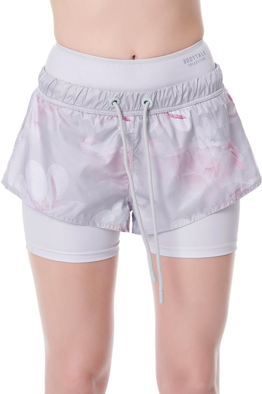 Women's shorts with integral short leggings  Shorts & Longshorts