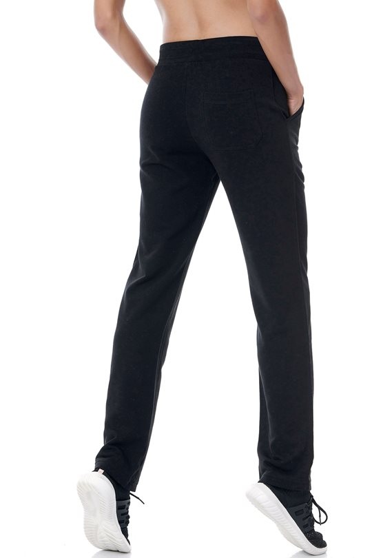 Women's regular sweatpants with straight sports cut  Pants