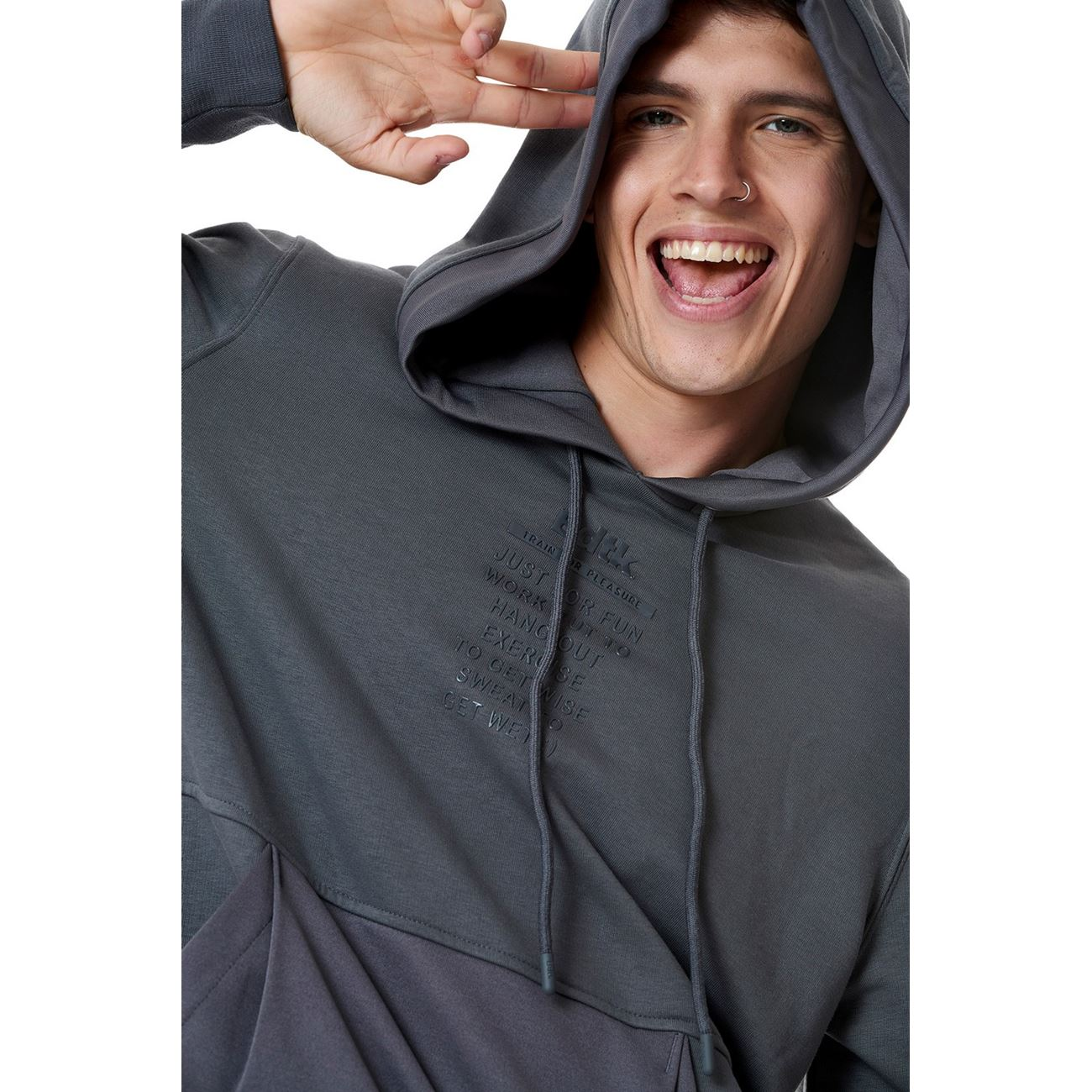 Ανδρικό hoodie `Just For Fun`