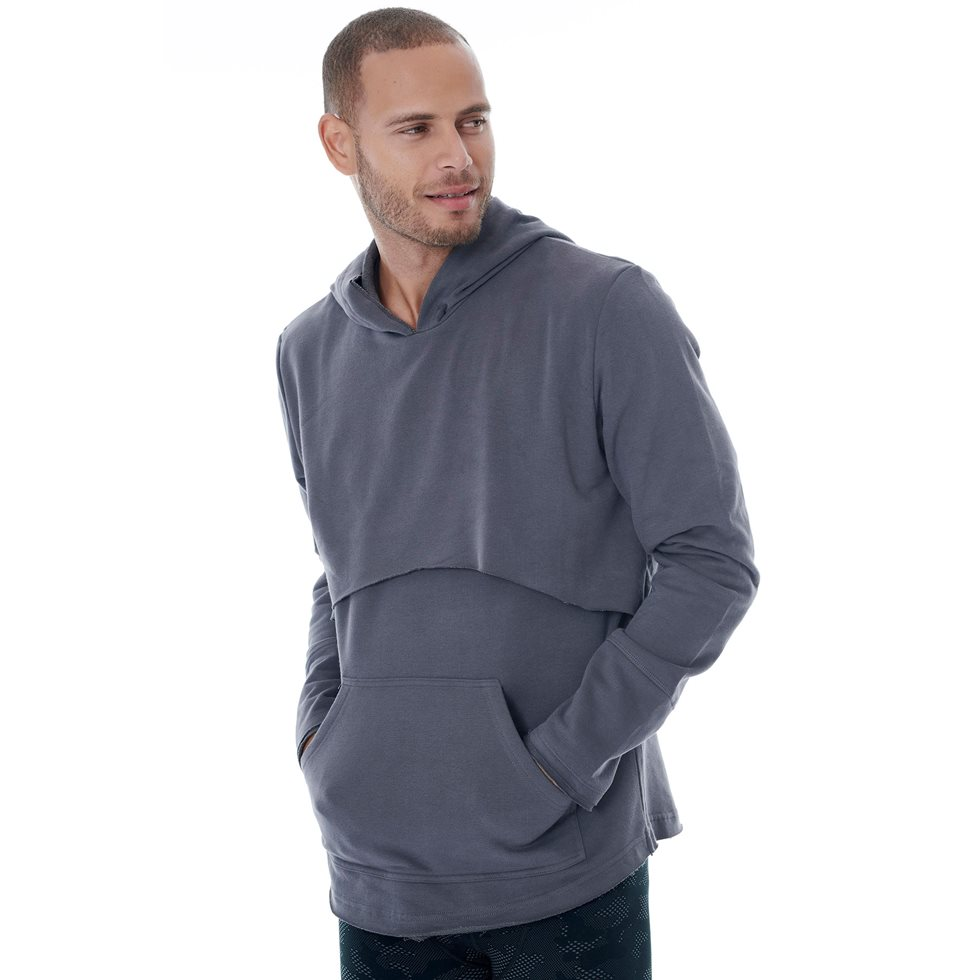 Men's hooded top
