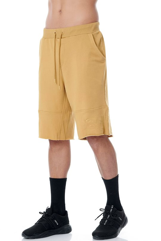 Men's long-length bermuda shorts with elastic  Shorts & Longshorts