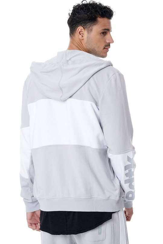Men's BDTK zip sweater with hood.  Zip Sweaters